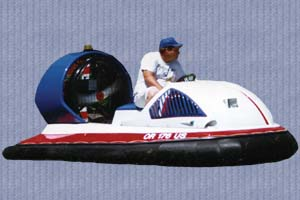 Spectra 1 hovercraft by Jet Graphic Design.