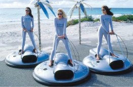 Alura Airboard personal hovercraft - ACV development Links999.