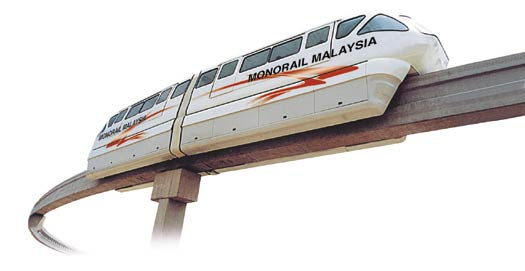 The Monorail Malaysia system - ACV at Links999.